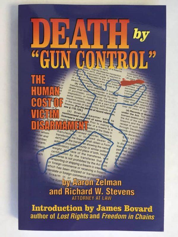 """Death by """"Gun Control"""" book cover"""