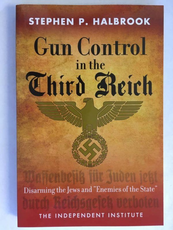 Gun Control in the Third Reich book cover
